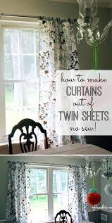 no sew curtains diy 8