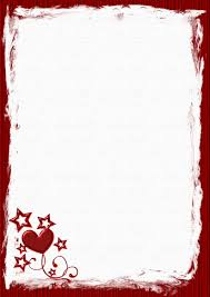 stationary template for word a4 valentines day holiday stationery pg 1