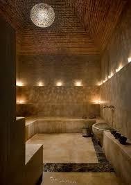 very interesting looks more like a community bath rather than regular bathroom