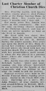 1938 Priscilla Dunham Austin Death Steuben Rep 4 May 1938 p1 -  Newspapers.com