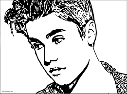 Small Picture Justin Bieber Coloring Pages To Print Page Throughout Pictures