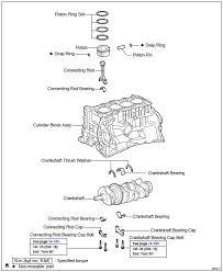 Toyota Highlander Service Manual: Cylinder block ASSY (2AZ-FE ...