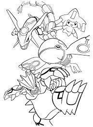 Legendary Pokemon Coloring Pages Kyogre Pokemon Coloring Pages