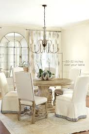 garage charming chandelier height from table 5 awesome home design ideas with great about remodel dinner