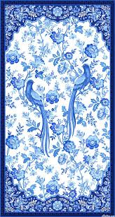 426 best Fabric images on Pinterest | Keepsakes, Violets and Baby ... & Blue Rhapsody - Delftware Aviary - 24 x 44 PANEL Quilt fabric online store  Largest Selection, Fast Shipping, Best Images, Ship Worldwide Adamdwight.com
