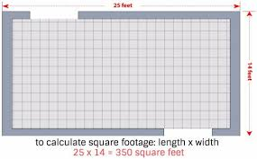 if you re measuring in feet it s this easy if you re
