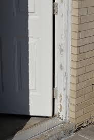 paint an exterior door and make it look