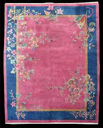 antique chinese art deco rug circa 1930 8 10x11 4 rn