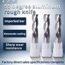 <b>1PCS</b> Roughing End <b>Mill</b> HRC55 4 Flutes Metal <b>Cutter Alloy</b> ...