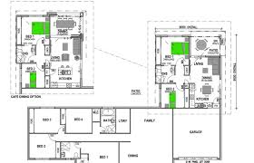 house granny flat plans modern dual occupancy acreage attached