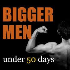 bigger men gym workouts plan by