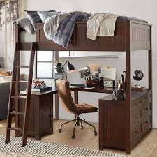 bunk bed with desk. Bed Lofts Bunk With Desk