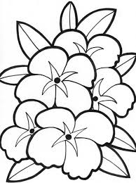 Flower Coloring Pages For Kids Valid Sheets Flowers Printables Fresh