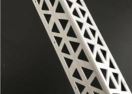 plastic render vinyl corner bead outside pvc drywall plasterboard edge bead