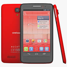 Alcatel One Touch Scribe X Red 3D Model ...