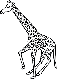 Printable Coloring Pages coloring page giraffe : Cool Giraffe Coloring Pages Awesome Coloring L #1084 - Unknown ...