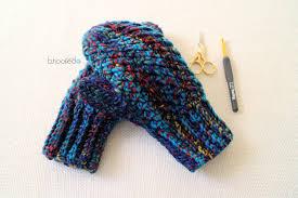Free Crochet Mitten Patterns Enchanting How To Crochet Mittens YouTube