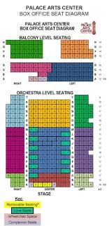 Grapevine Palace Theater Seating Chart Pac Building Specs