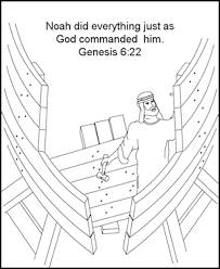 Small Picture Noah Builds the Ark coloring page