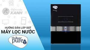 Hướng dẫn lắp đặt máy lọc nước Unilever Pureit Ultima RO UV MF 67370949 •  Điện máy XANH - YouTube