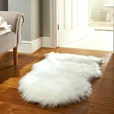 large faux fur area rug fake fur rug faux fur rugs in white free delivery the