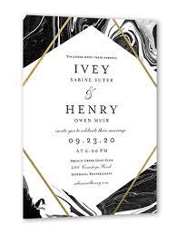 Elegant Invitation Cards Elegant Marble 5x7 Wedding Invitation Cards In 2019