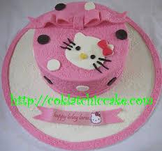 Kue Ulang Tahun Hello Kitty Laras Coklatchic Cake