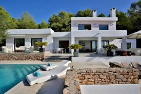location villa de luxe ibiza piscine