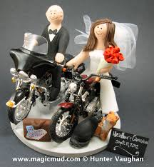 Harley Davidson Cake Decorations Cute Wedding Cake Toppers Motocross Prom Decoration Also Wedding