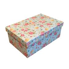Floral Design Gift Boxes Gift Wrapping Supplies Quality Vintage Floral Design