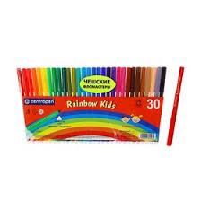<b>Фломастеры</b> 30 цветов <b>Centropen</b> 7550/30 <b>Rainbow Kids</b> ...