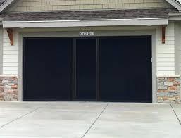 build garage door garage door screen panels black diy garage door panels