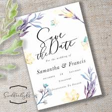 Save The Date For Wedding Save The Date