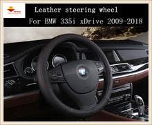 2018 bmw 335i. plain 335i moda esporte estilo couro tampa da roda de direco do carro para bmw 335i  xdrive 20092018 to 2018 bmw a