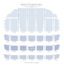 Radio City Music Hall New York Seating Chart Christmas Spectacular Starring The Radio City Rockettes