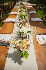 Country Table Decorations Wedding Decoration Ideas Rustic Country Wedding Reception