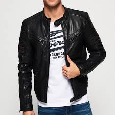 black british styled mens leather jacket 1016 by di pelle