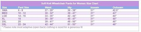 Wheelchair Size Chart Womens Open Back Wheelchair Soft Stretchable Denim Jeans By Izzy Camilleri