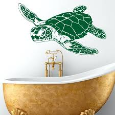 sea turtles wall decor art design home decoration vinyl sea turtle wall sticker removable house