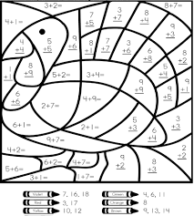 Small Picture Free Math Coloring Sheets Math Addition Coloring Pages Free