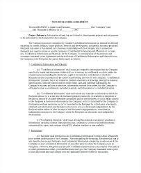 Nda Template Canada Nda Agreement Template Canada Intellectual Property Non Disclosure
