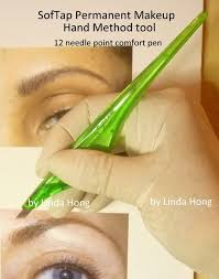 softap hand tool 12 needle there are 12 fine tip needles in line that flex each time the technician taps pigment into the skin to create hair like