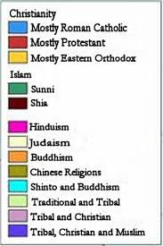 Best China Religion Pie Chart On World Religions The Global