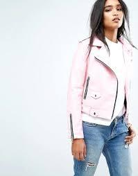 light pink leather jackets mango faux leather biker jacket light pink leather jacket with fur