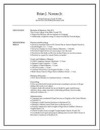 Cover Letters For Ministerial Resumes Johnson University