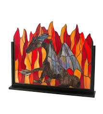stained glass fireplace screen stained dragon single panel glass fireplace screen stained glass fire screen