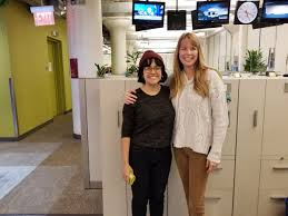 """Wendy Rhodes en Twitter: """"Touring and dreaming at @WNYC radio with the  talented @spalizac #radio #Journalism #Audio… """""""