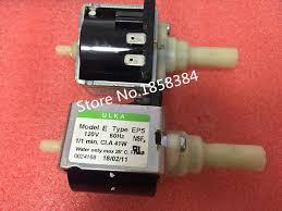 AC120V 60HZ EP4 Original authentic <b>coffee machine pump ULKA</b> ...