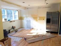 Steps To Remodel Kitchen Kitchen Progress Staining Hardwood Floors Jenna Burger