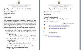 Centro Juvenil De Historia Cornelio Hispano Carta De Invitacion A